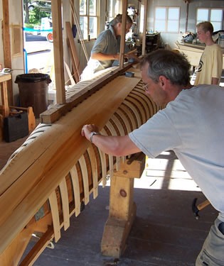 Build Canoe at North House